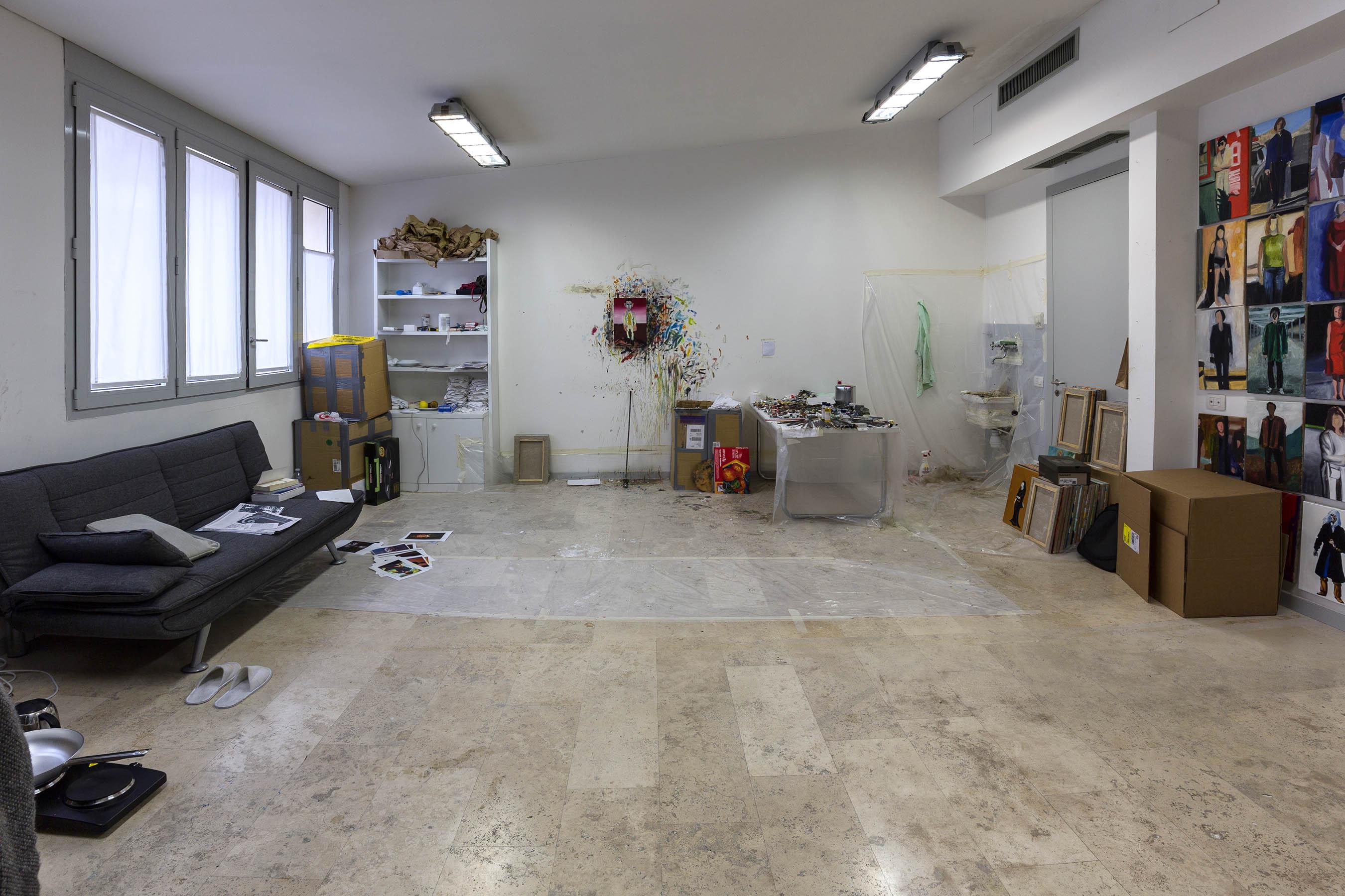 De Marco Ceramica Roma.Residencies Istituto Svizzero